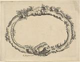 Oval seed bead frame