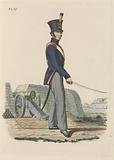Gunner of the Artillery National Militia