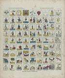To learn from about eighty different tables / Den name, we deez 'print to inform you / Pour apprendre le nom de …