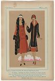 Très Parisien, 1925, No 11. 1: Créations Charlotte FLOCH: ALI-BABA (…).
