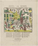 Sint Nicolaes sat in paerd, / Laet know all good children ((…))
