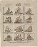 A dozen ships, dear Youth! / Will be offered to you in this print.