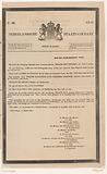 Nederlandsche Staats-Courant. Sunday March 18. N 66, 1849.