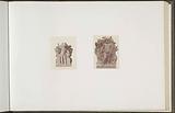 Plaster models for sculptures at the Palais du Louvre