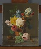 Still Life with Flowers and Nuts