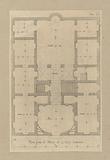 Ground floor plan of the Palazzo Podestà in Genoa