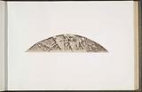 """Plaster models for sculptures at the Palais du Louvre: """"L'Agriculture"""" by Gabriel Joseph Garraud."""