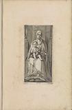 Zittende Maria met Christuskind (Sedes sapientiae)