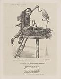 Cartoon on Contemporary Poetry, 1860