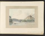 Gunung Api seen from the Zonnegat strait