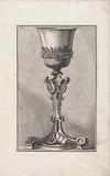 Chalice with vines, ears of corn and garlands