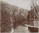 Pillar of the Viaduct de Rouzat over the Allier in Auvergne