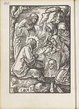 Veronica shows the sudarium to Maria and Johannes