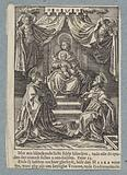 Throne Mary with the Christ Child and Saint Stephen and Saint Laurent