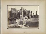 Remnants of the Casa di Cornelio Ruffo in Pompeii