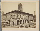 Palazzo del Podestà in Piazza Maggiore in Bologna