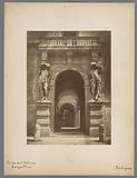 Gate of the Palazzo Davia Bargellini in Bologna