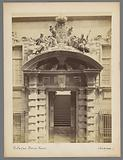 Entrance gate of the university building in Genoa