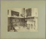Interior of the National Exhibition of Old and New Arts and Crafts held at the Koekamp in The Hague in 1888