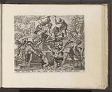 Gideon demolishes the altar of Baal