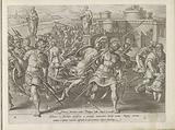 Giovanni de 'Medici surrounded in Rome