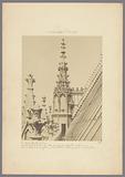 Pinnacle on the Sainte-Chapelle in Paris