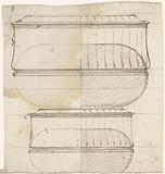 Design for two oval lid boxes