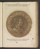 Portrait of Emperor Honorius