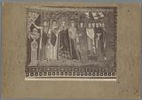 Mosaic in the Basilica di San Vitale in Ravenna, depicting Emperor Theodora and her entourage