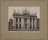 Façade of the Saint John Lateran in Rome