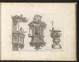 Three pulpit designs