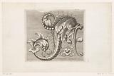 Acanthus motif with curls