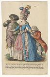 Gallerie des Modes et Costumes Français, no. 28, copy after ee. 169 (bis): Femme vetue d'un Levit (…).