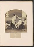 Four men of Jat origin with a hookah in Delhi