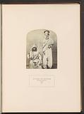 Portrait of two unknown men from Sindh