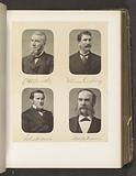 Portraits of four members of the House of Commons of New York State