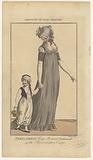 Magazine of Female Fashions of London and Paris, PARIS DRESS. Cap-Bonnet (…).