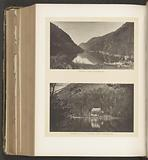 Two views of Edmonds' Ponds in the Adirondack Mountains