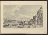 View of the Grand Canal and Santa Maria della Salute in Venice