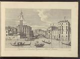 View of the Cannaregio and Palazzo Labia in Venice