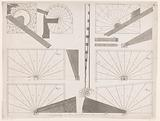 Technical drawings of stairs