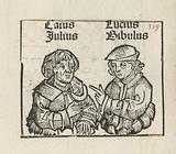 Gaius Julius Caesar en Marcus Calpurnius Bibulus