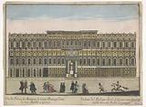 View of the Palazzo Negrone in Genoa