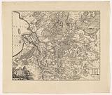 Map of Overijssel