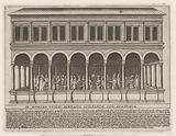 The ancient Roman Gymnasium in Rome