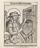 Saint Hieronymus in his study