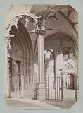 Right part of the south portal of Bourges Cathedral