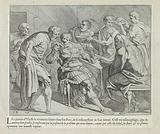 Odysseus is welcomed by Dolios and his sons