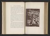 Photo reproduction of a print after a painting by Daniel Maclise, depicting a scene from The Vicar of Wakefield by …