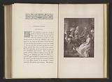 Photo reproduction of a print by Thomas Stothard, depicting an illustration for The Vicar of Wakefield by Oliver …